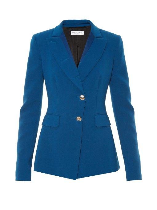 ALTUZARRA Rafael Paneled Wool Jacket. #altuzarra #cloth #jacket