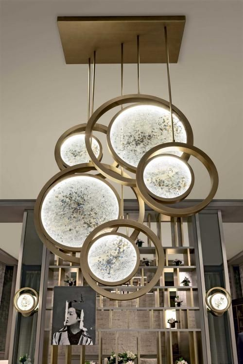 Moon lighting collection by Oasis muebleria par hacer Pinterest - como hacer lamparas de techo