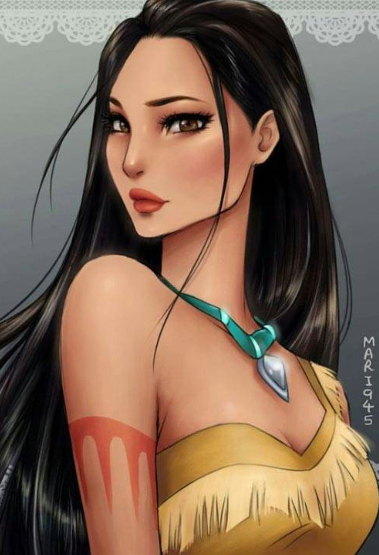 POCAHONTAS  (Disney Princess Anime Version)