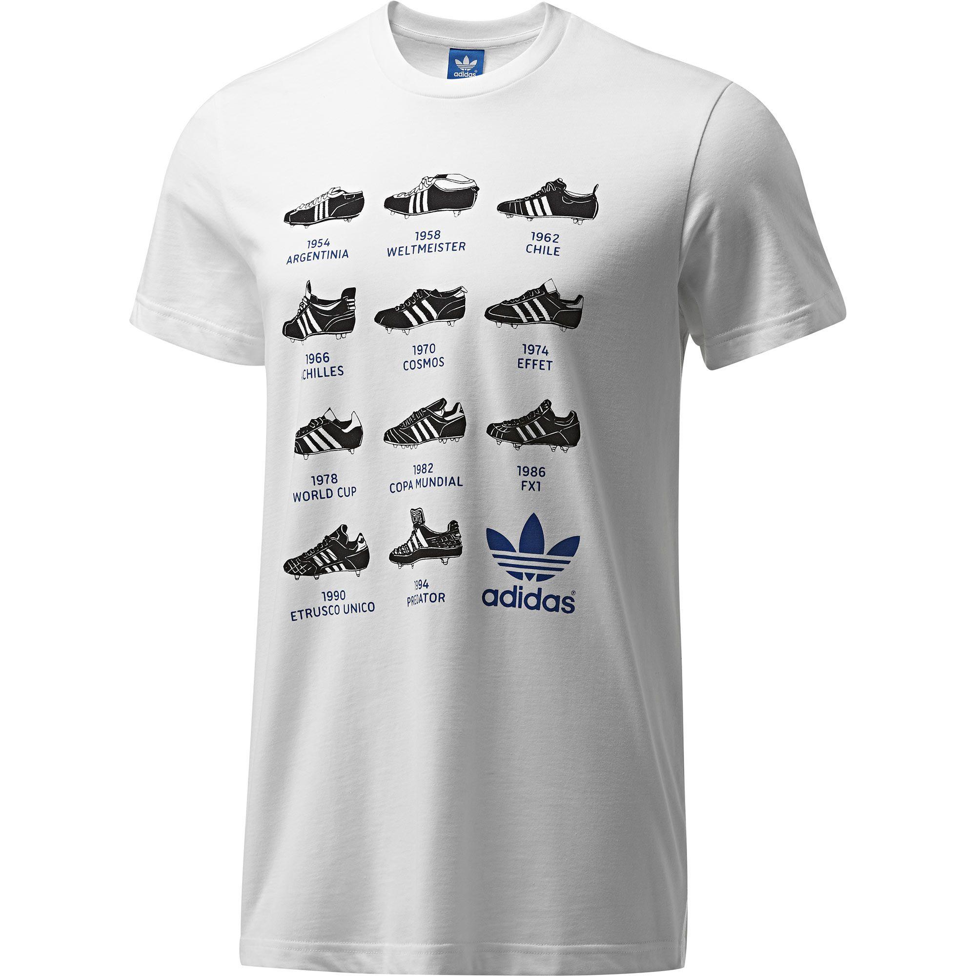 Camiseta Boot History adidas  879e43db353ae