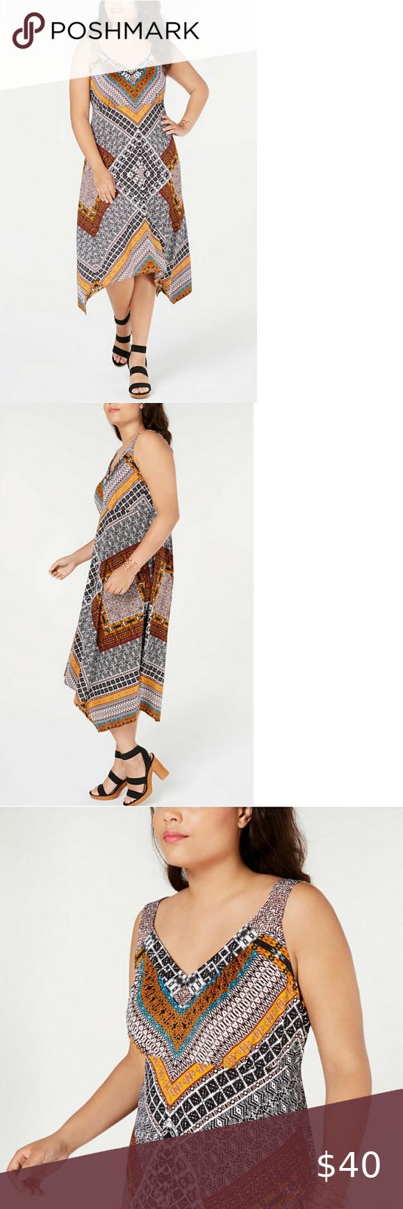 Inc Plus Size 4x Patchwork Handkerchief Maxi Dress Handkerchief Maxi Dress Maxi Dress Pullover Styling [ 1740 x 580 Pixel ]