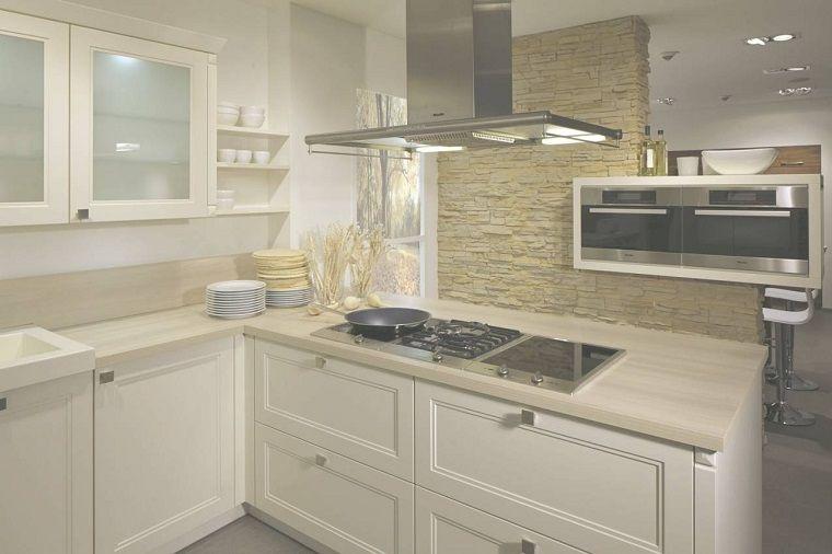 cucine-ad-angolo-moderne-mobili-color-avorio | Architettura | Pinterest