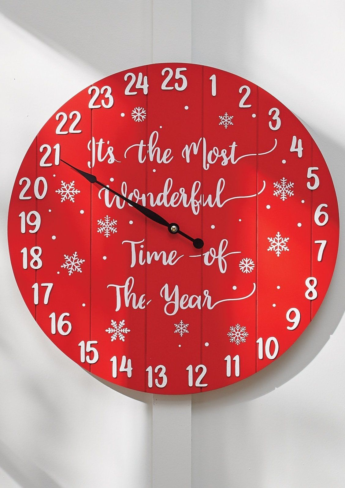 Countdown To Christmas Wall Decor Grandin Road In 2020 Christmas Wall Decor Christmas Countdown Shop Wall Decor