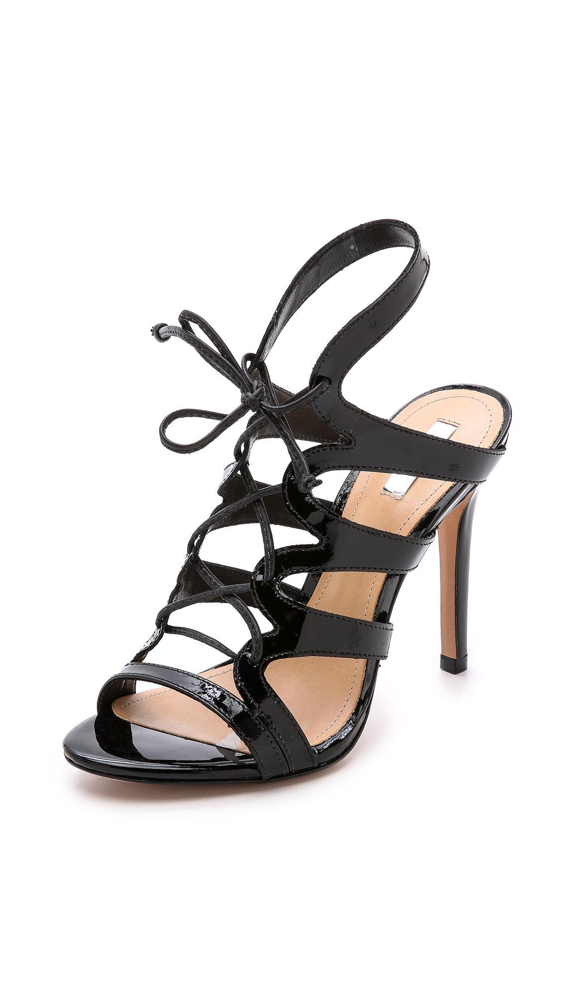c1f40c7219d7 Schutz Dubiana Lace Up Sandals