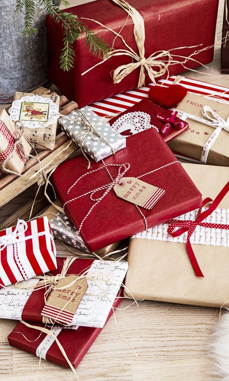 11 ihanaa paketointi-ideaa jouluun: loihdi kauniit