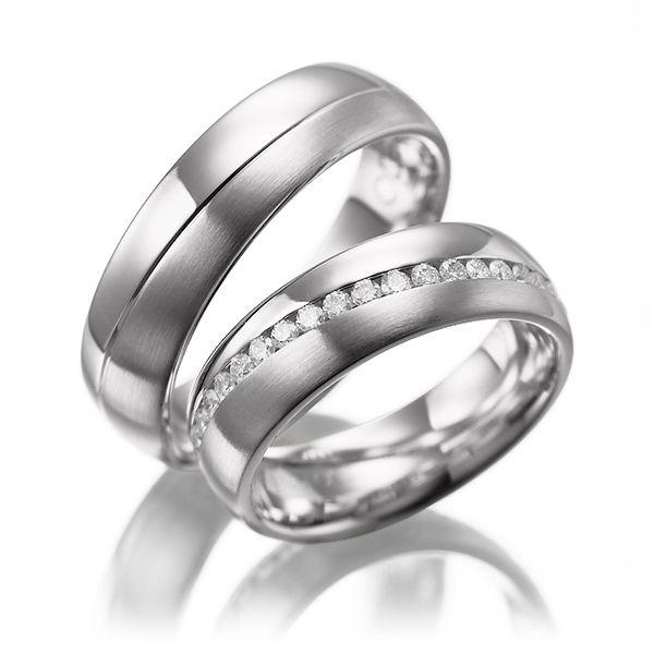 la alianza perfecta: platino #boda #alianzas | anillos de compromiso