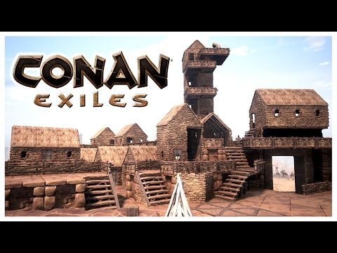 What Do You Think This Conan Exiles Base Work Video Conan Exiles Base Work Don T Forget To Leave A Like On This V Conan Exiles Conan Conan The Barbarian