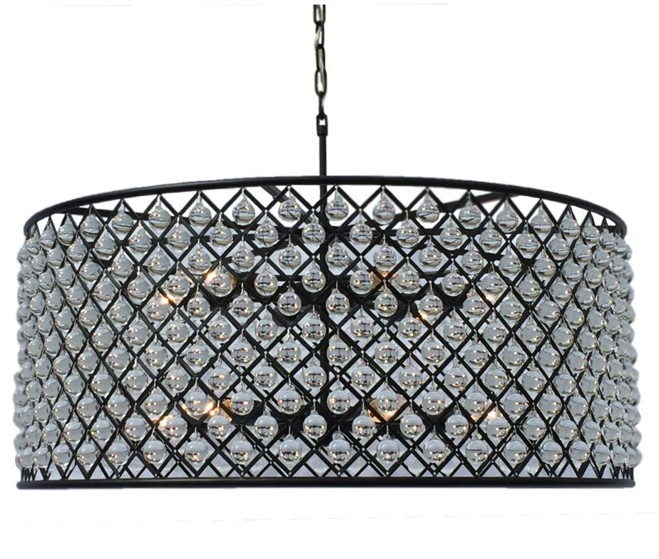 Similar To Restoration Hardware Cassiel Crystal Drum Chandelier Extra Large Light Up My
