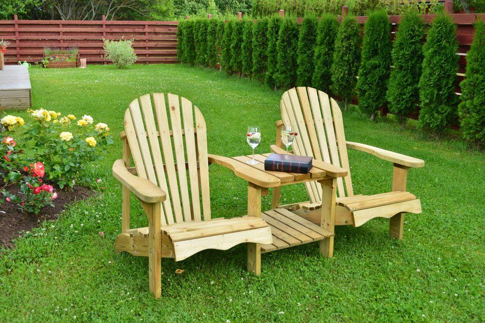 chaise americaine de jardin