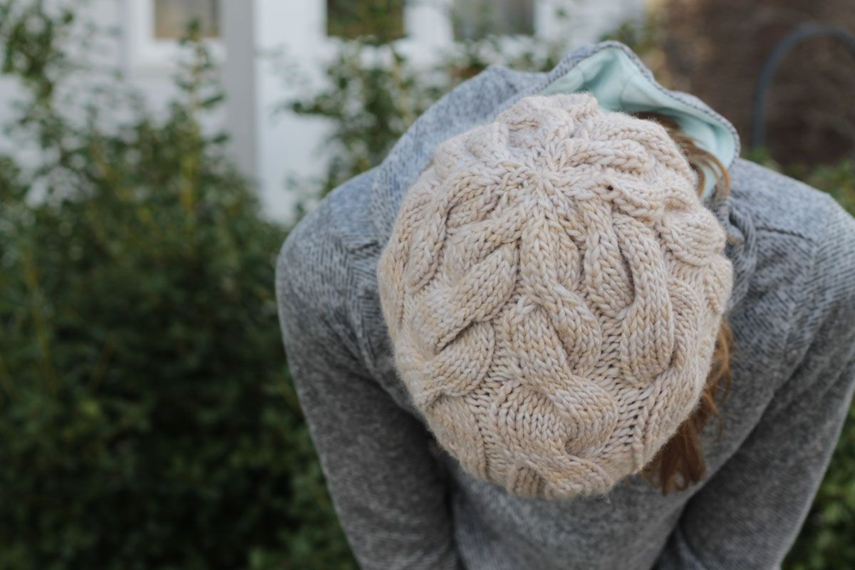 knitting: skalbagge cabled hat {free pattern | Knitting patterns ...