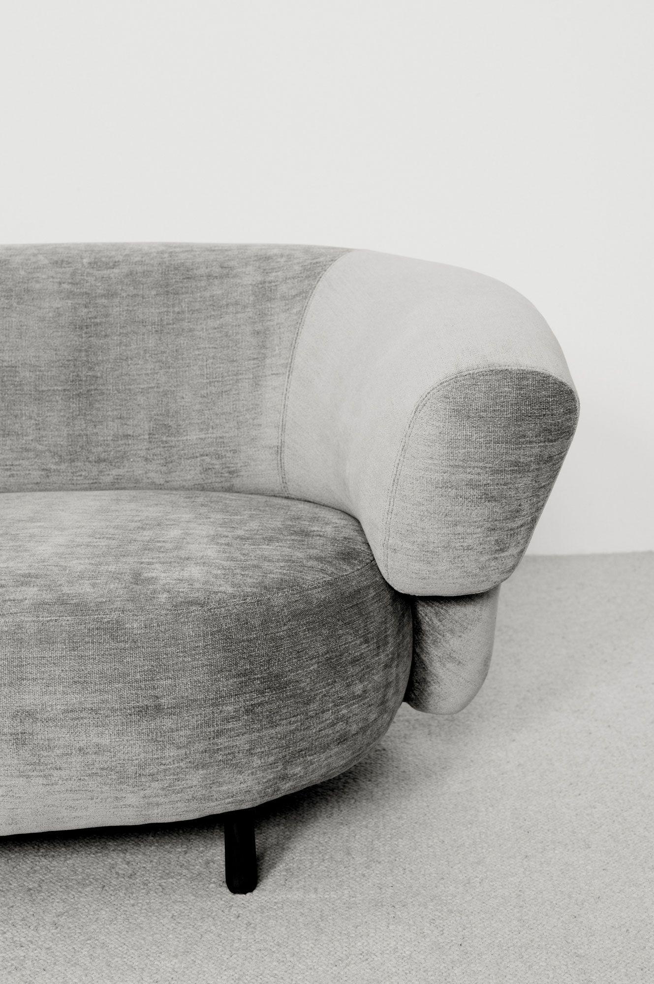 Canape Ana 3 Christophe Delcourt Vintage Sofa Sofa