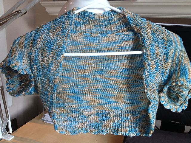 Ravelry: One Skein Bolero pattern by Chi-Sze Ooi (With ...