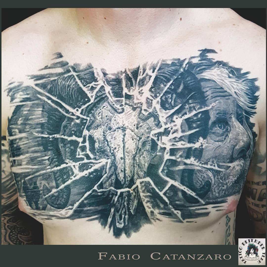 #tattoo #tattooed #ink #inked #chest #chesttattoo #blackandgray #blackandgreyink #skull #skulltattoo #portrait #portrait_mood #tattoodefender #tatuaggio #tatuaggiobiancoenero #teschio #tatuaggioteschio #ritratto #vicenzatattoo #vicenzatatuaggi #vicenzatattoostudio #tattooshop #pantheraink #arteviva #realistic #realismtattoo #realisticink