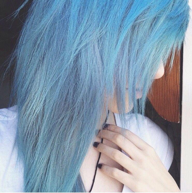 Ion Color Brilliance Azure Blue Hair Hair Styles Sky Blue Hair