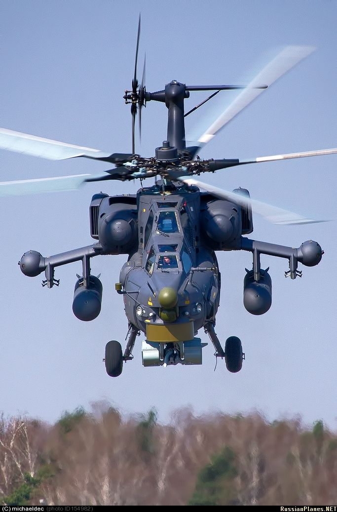 "toocatsoriginals: ""Mil Mi-28N Night Havoc"""