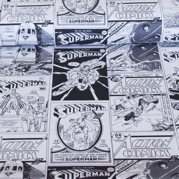 Superman Retro Comic