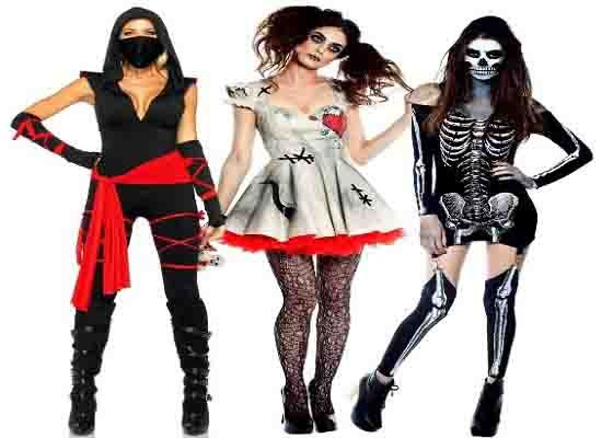 Sexy but scary halloween costumes