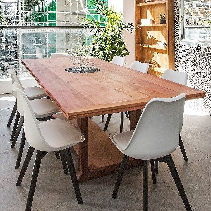 This Gorgeous Hydrowood Myrtle Timber Table Was Seen In