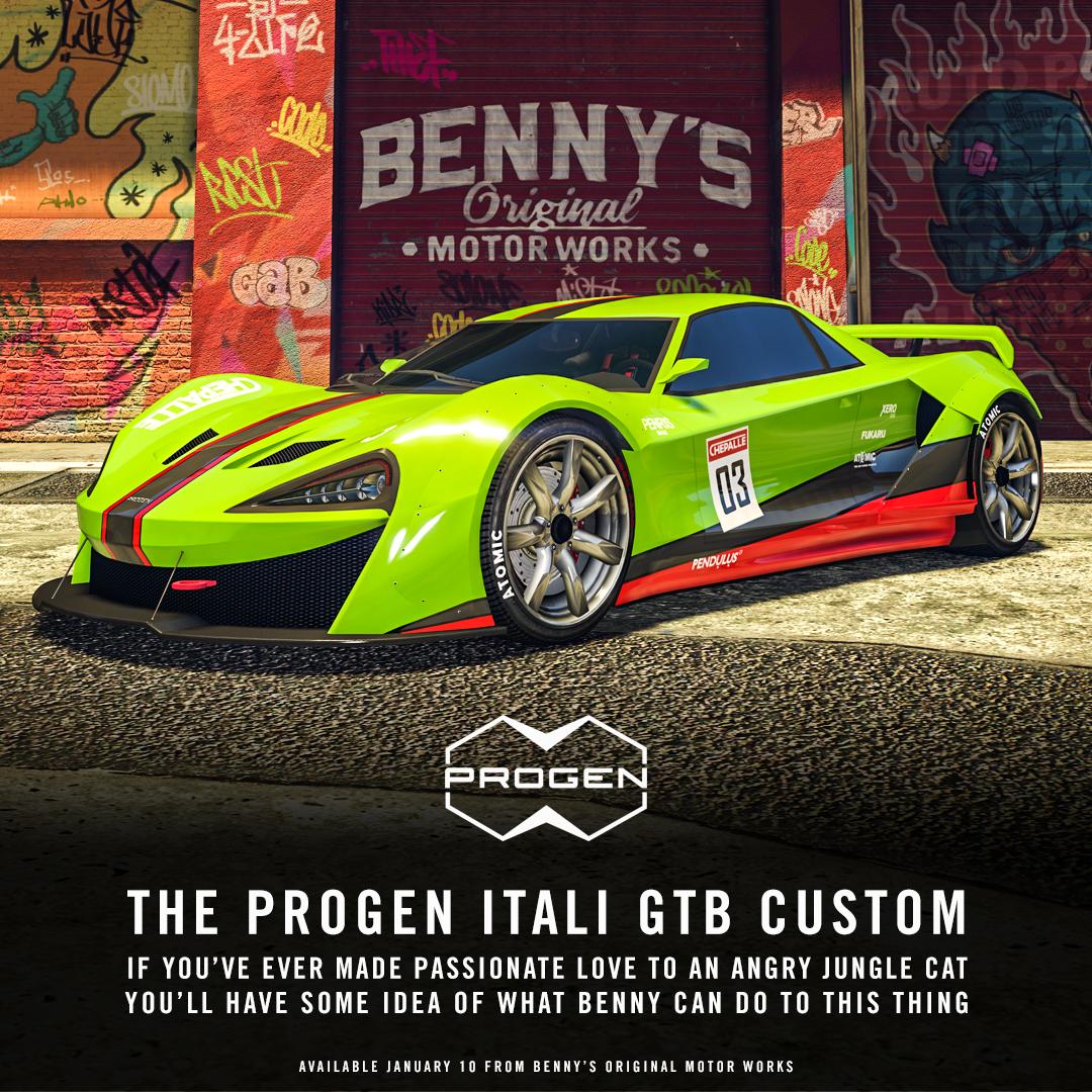 Progen Itali Gtb Custom Now Available In Gta Online Grandtheftautov Gtav Gta5 Grandtheftauto Gta Gtaonline Grandtheftauto5 Ps4 G Gta Gta Cars New Cars