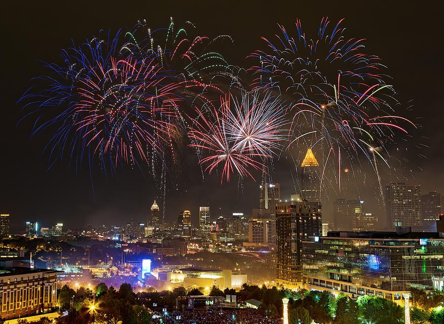 The Atlanta Neighborhoods And Real Estate Blog New Year Fireworks Fireworks Fireworks Photography