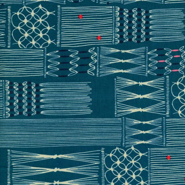 Macrame - Wall Hanging (Deep Sea) ⎮ Cotton