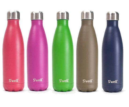 These bottles keep water cold for up to 24 hours!