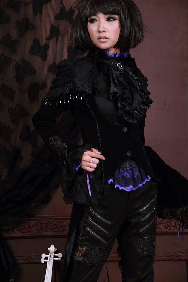 RQ-BL Velvet Royal Tailcoat   Pixieknix £60