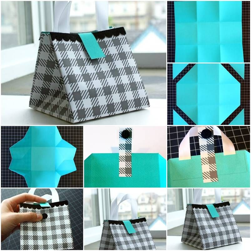 How To Make Nice Paper Gift Bag Step By Diy Tutorial Instructions Picture Tutorials Craft