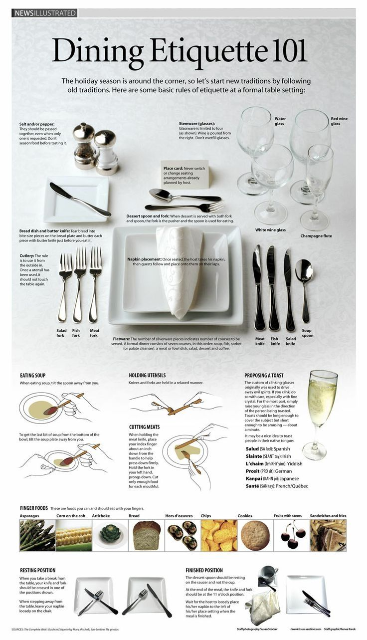 Diy Dinner Party Ideas Part - 31: Dining Etiquette Diy Dining Dinner Easy Diy Party Ideas Party Table Ideas  Table Idea Etiquette Infographs