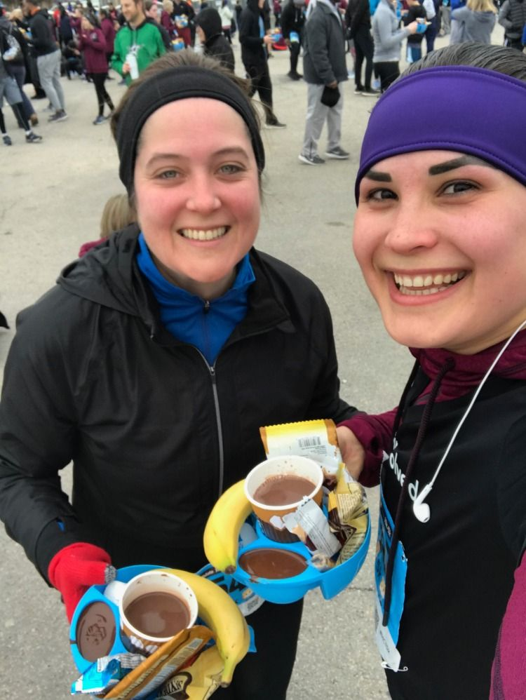 Team brierley at the 2019 hot chocolate run in dallas on