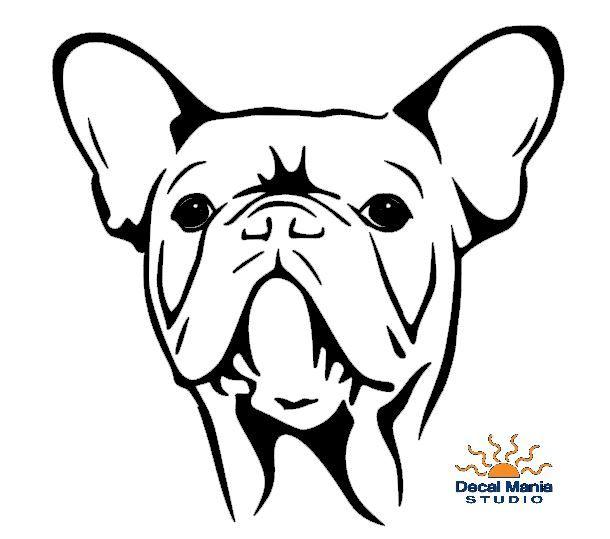 French Bulldog Head French Bulldog Art French Bulldog Tattoo Bulldog