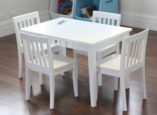 Metro Kids Table And 4 Chairs Set | Childrens Table And Chairs   Online  Shopping In