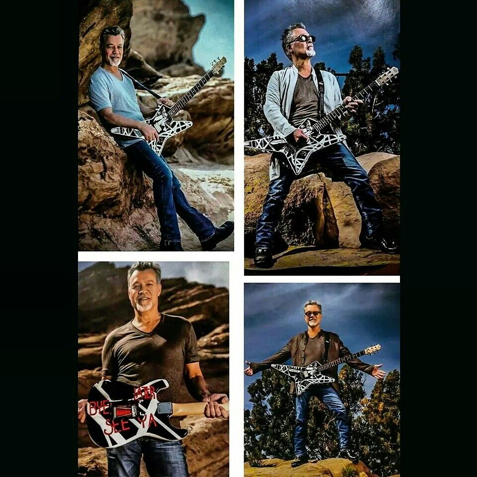 Photos Of Eddie Van Halen From The New Issue Of Guitar World Magazine In Stores Now Evh Eddievanhalen Alexvanha Eddie Van Halen Van Halen Rock And Roll
