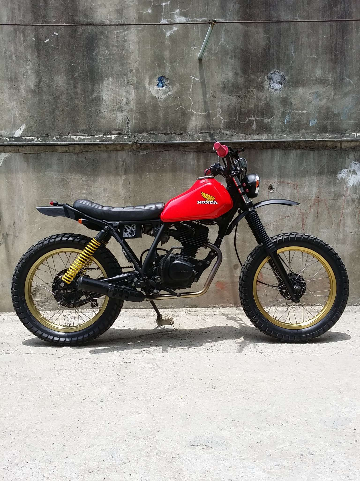 Honda motorcycles philippines website - Bike Feature Revolt Cycles Honda Xl125 Rvlt08 Cafe Racer Philippines