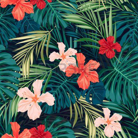 Hawaii Muster Premium Vektor