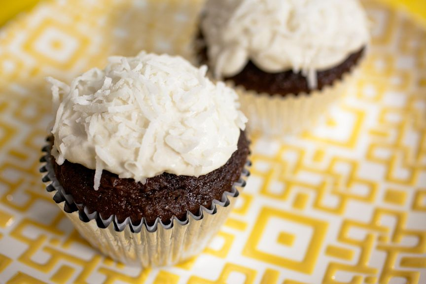 My Rich Chocolate BEET Cupcakes with CAULIFLOWER cream cheese Frosting. Guilt-free! *Like* or comment to let me know to send you the recipe!