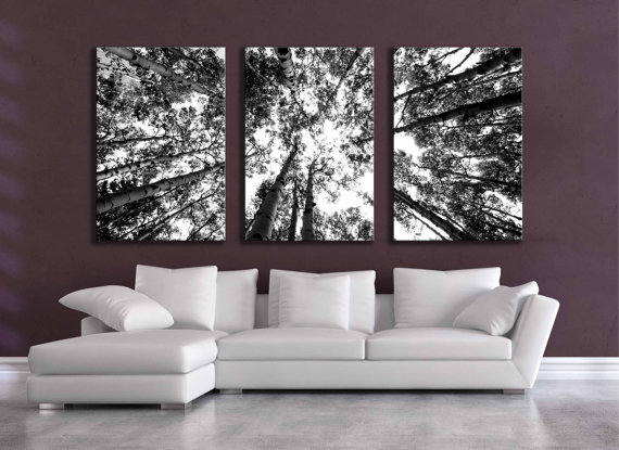 LARGE GREY BLACK WHITE ABSTRACT CANVAS ART FRAMED 42x20
