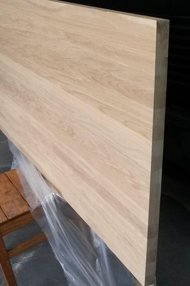 eiche tischplatte massivholzplatte 40mm x 180cm x 81cm durchgehende lamellen in heimwerker. Black Bedroom Furniture Sets. Home Design Ideas