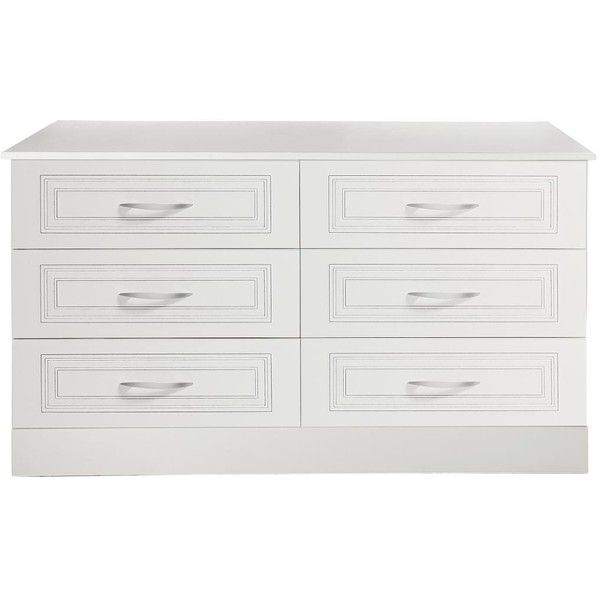 Best Consort Dorchester Ready Assembled 3 3 Chest Of Drawers 400 x 300