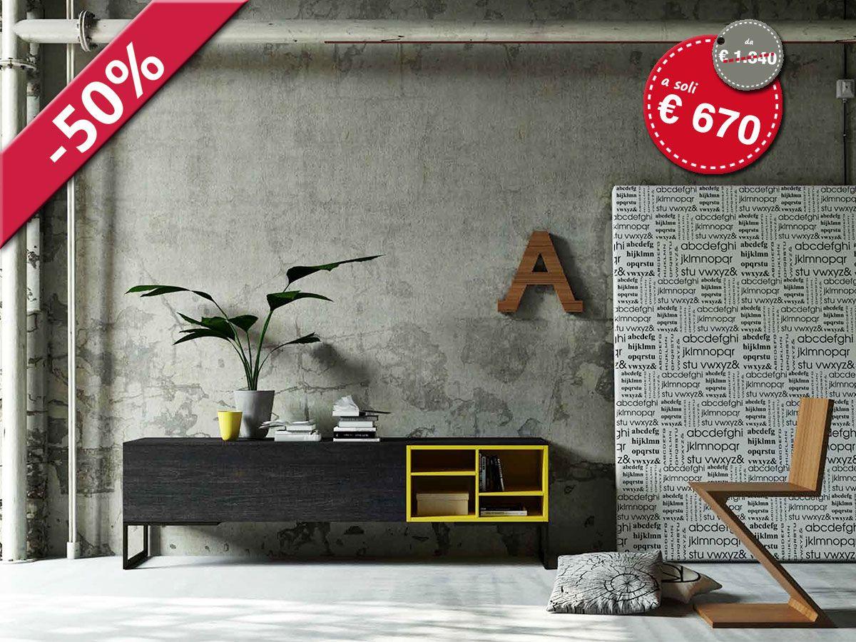 Madia porta tv design | ArredissimA Soggiorni | Pinterest