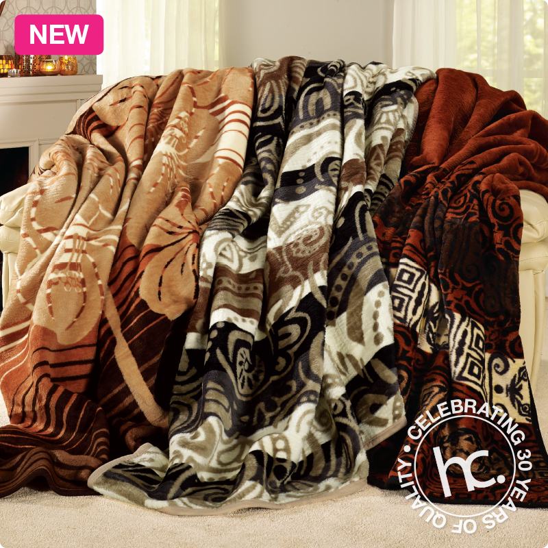 Pin By Homechoice On What S New This April Blanket Bed