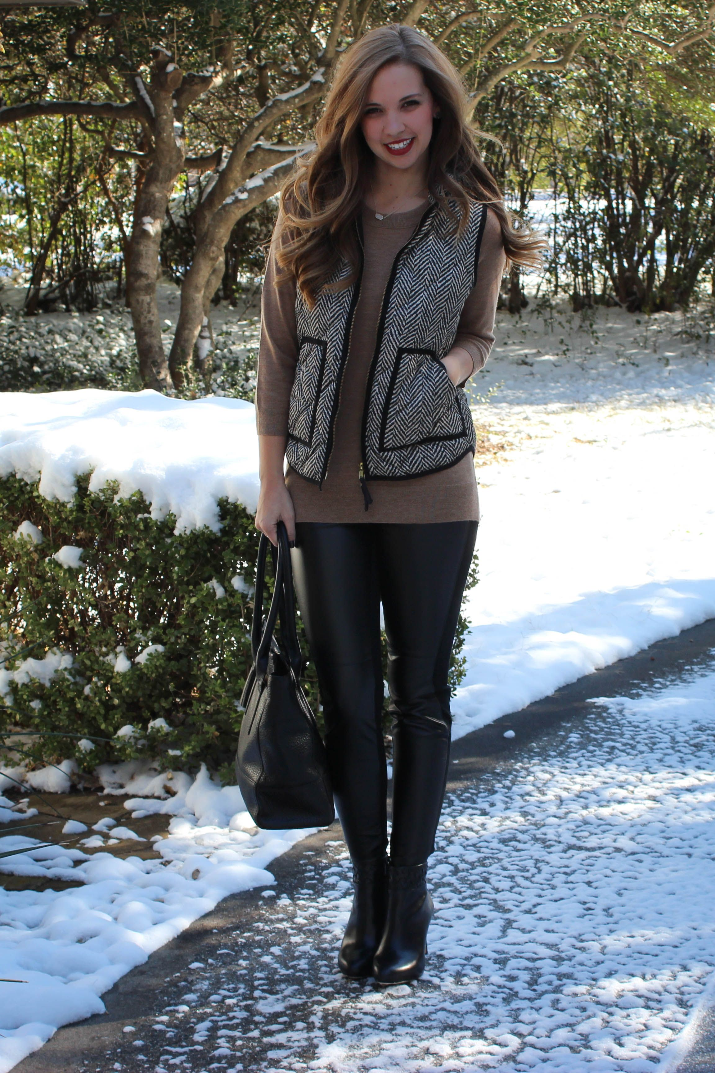 Half Leather Pants « a pearl kind of girl