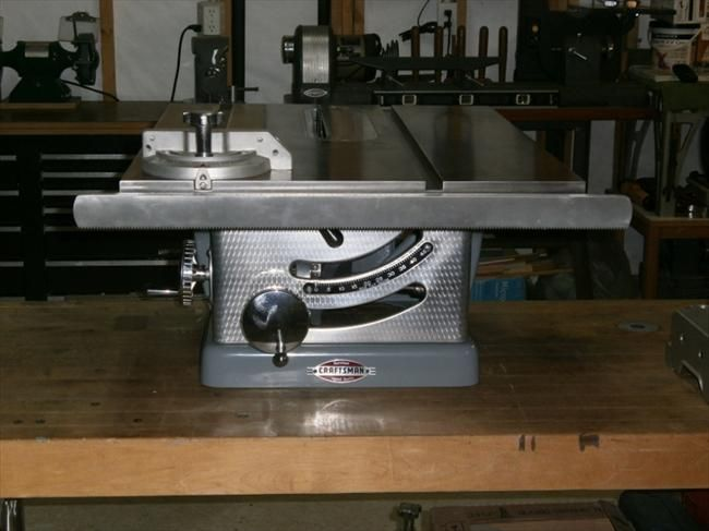 Another Restored Table Saw Like Mine Table Saw Fence Sears Craftsman Woodworking Table