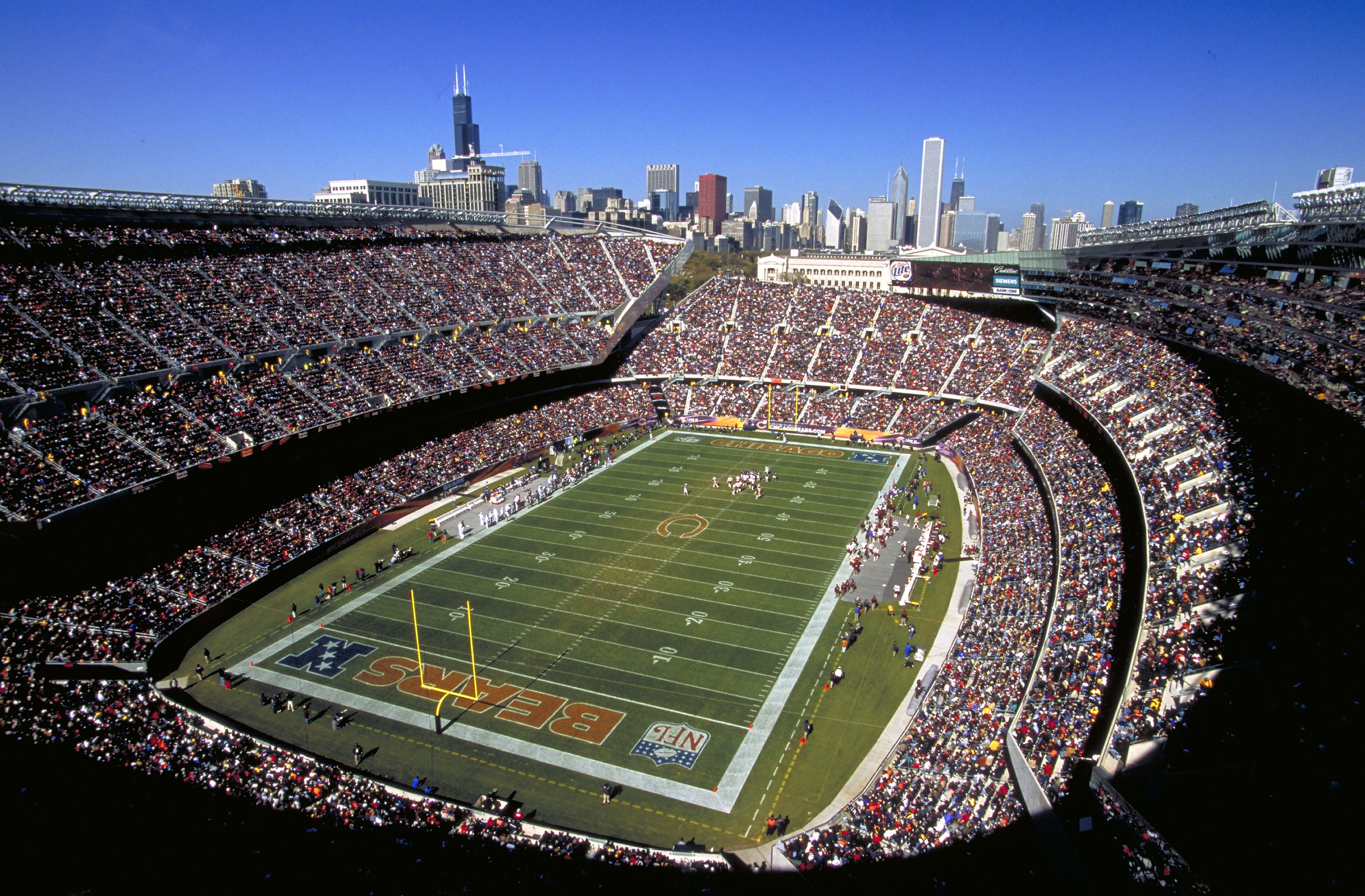 Things To Do In Chicago Chicago Bears Stadium Soldier Field Chicago Bears Football
