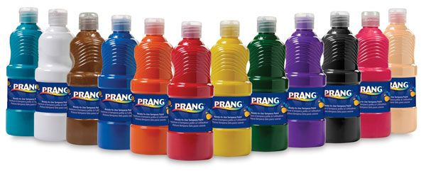 Prang Ready To Use Washable Tempera Paint Blick Art Materials Washable Paint Paint Set Tempera
