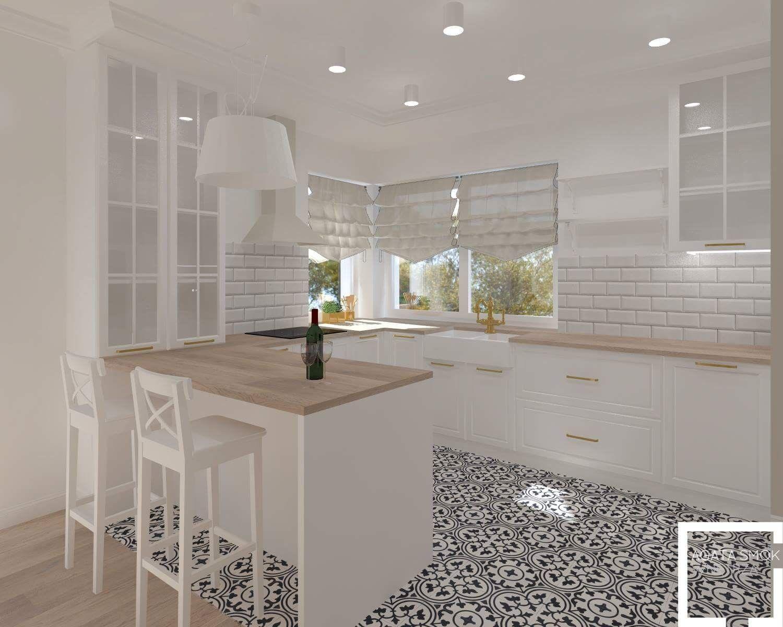 Witryna Nad Wyspa Modern Kitchen Design Kitchen Design Kitchen Decor