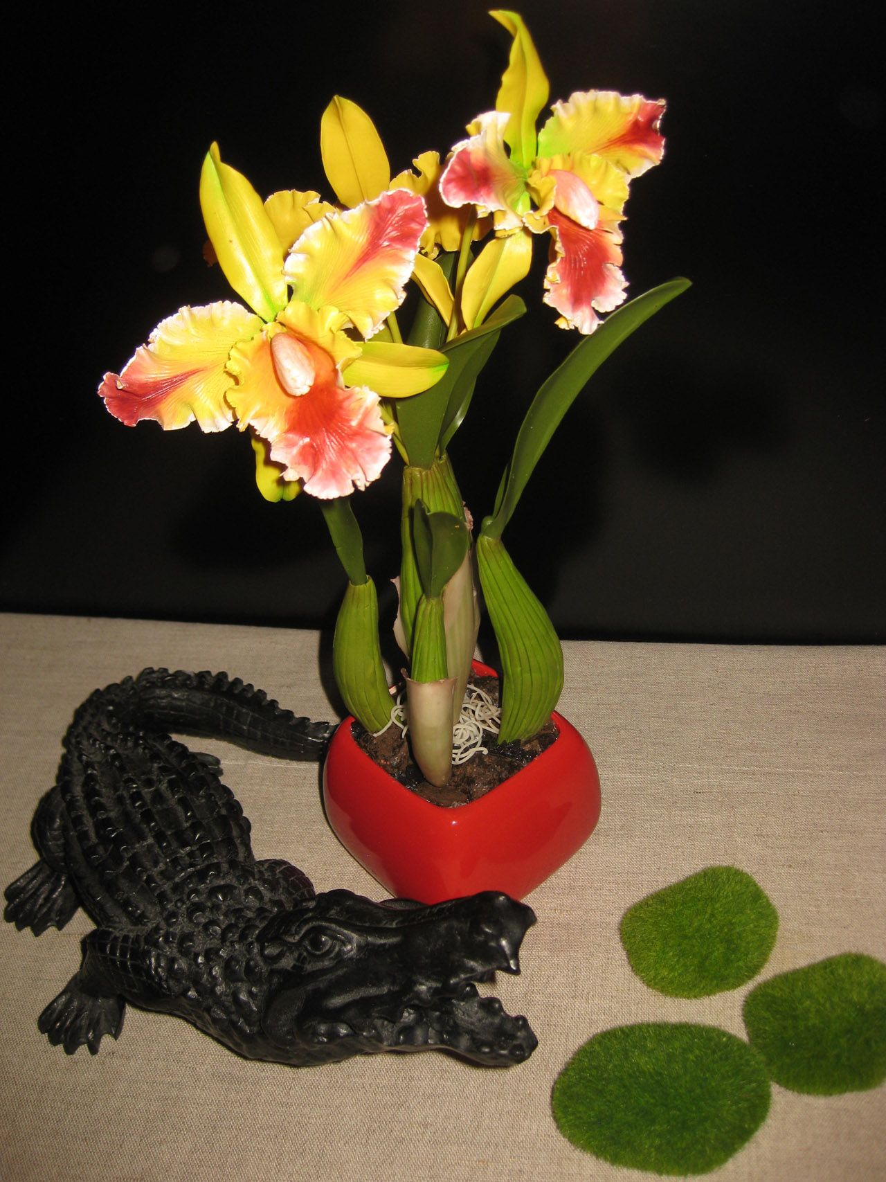 All to create the colors of polymer materials.  Master class on making flowers. http://pion-online.ru/blog/