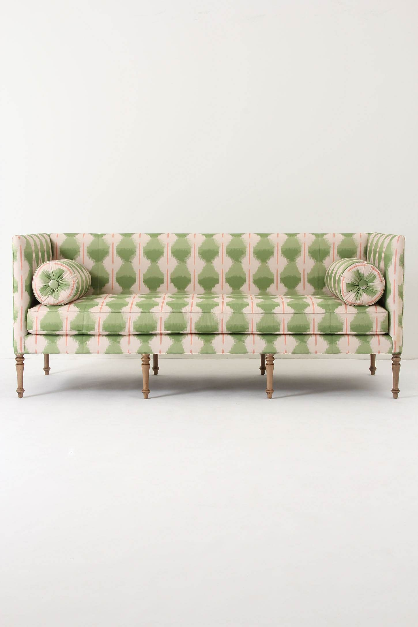 Ditte Sofa Bolster pillows included Walker finish Webbed seat ...