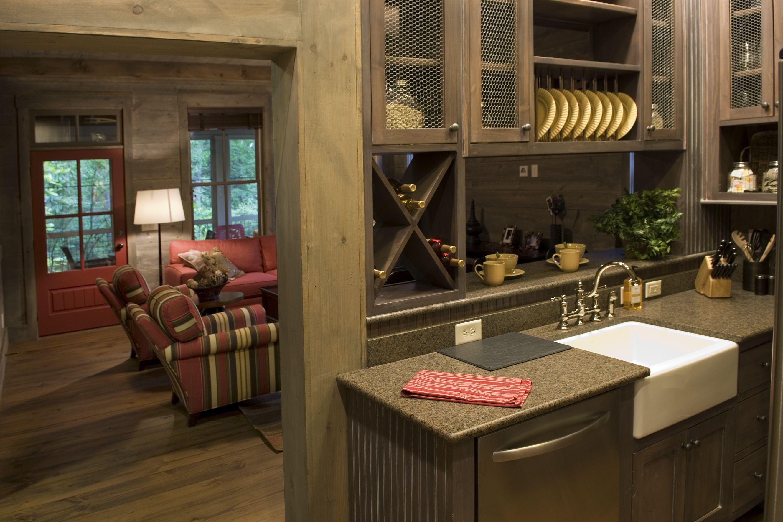 Cabin Interior - Camp Callaway Pine Mountain Builders www.pmbldrs ...