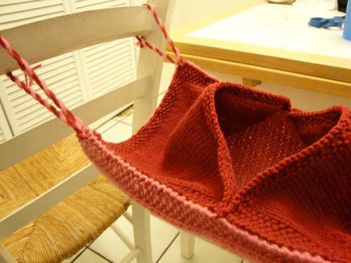 Crocheted Doll Hammock | Crochet hammock, Crochet hammock diy ... | 375x500